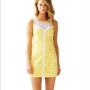 Lilly Pulitzer MacFarlane Sleeveless Yellow Dress